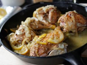 One-Pan Lemon Roast Chicken